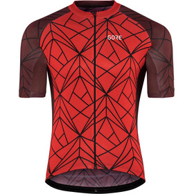 GORE WEAR C3 Maillot de cyclisme Homme, red/chestnut red